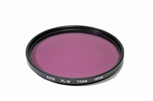High Quality Optical Glass FLW Filter Made in Japan 72mm Kood